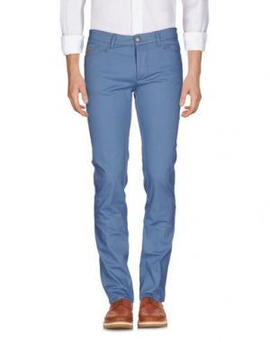 Повседневные брюки D-21. Цвет: пастельно-синий