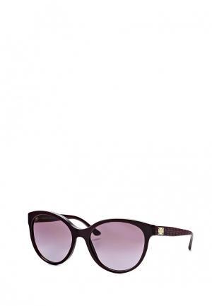 Очки солнцезащитные Versace. Цвет: бордовый