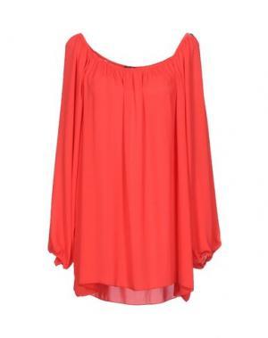 Блузка TRY ME. Цвет: красный