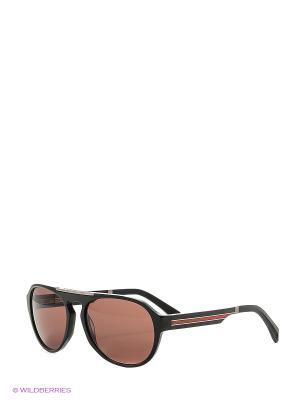 Солнцезащитные очки BLD 1634 401 GB SIGNATURE Baldinini. Цвет: красный, черный