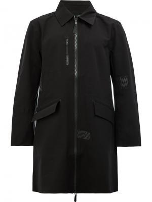 Пальто на молнии Yang Li. Цвет: чёрный