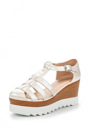 Туфли Damerose. Цвет: белый