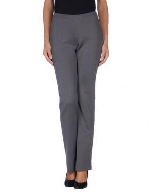 Повседневные брюки CHARLOTT. Цвет: свинцово-серый