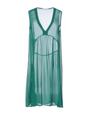 Платье до колена CHILI PEPPERS. Цвет: зеленый