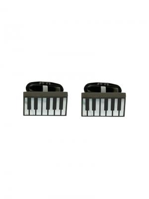 Piano cufflinks Paul Smith. Цвет: чёрный
