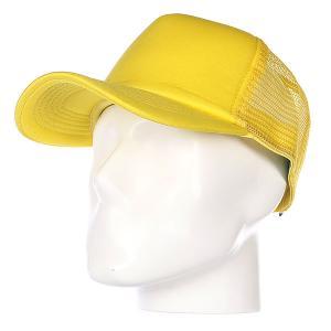 Бейсболка с сеткой True Spin Basic Trucker Yellow TrueSpin. Цвет: желтый