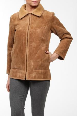 Куртка TICHY CLUB. Цвет: бежевый