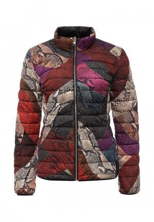 Куртка утепленная Just Cavalli. Цвет: разноцветный