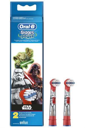 Насадки для щеток OralB, 2 шт ORAL B. Цвет: none