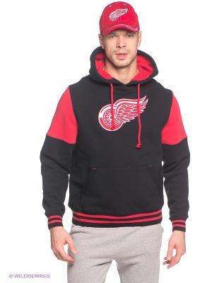 Худи NHL Red Wings Atributika & Club. Цвет: черный, красный