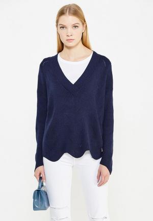 Пуловер Patrizia Pepe. Цвет: синий