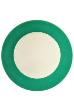 Тарелка KAHLA. Цвет: зеленый