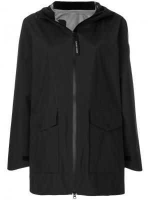 Wolfville raincoat Canada Goose. Цвет: чёрный