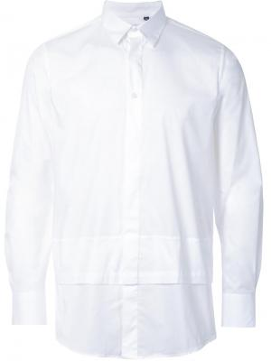 Рубашка New Man Layerd Matthew Miller. Цвет: белый