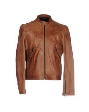 Куртка GOLD CASE by ROCCO FRAIOLI. Цвет: коричневый