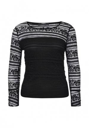 Блуза Mim. Цвет: черный