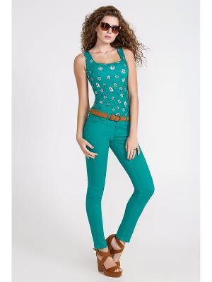 Блузка Concept Club. Цвет: темно-зеленый, бирюзовый