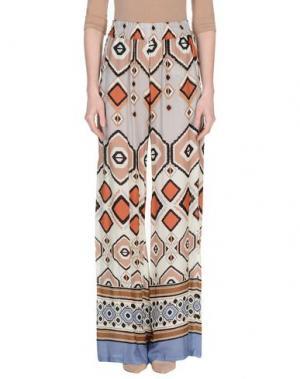 Повседневные брюки MYF. Цвет: светло-серый