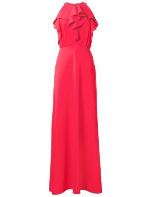 Платье Lemyana Greta Constantine. Цвет: красный