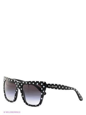 Очки солнцезащитные DOLCE & GABBANA. Цвет: черный, белый