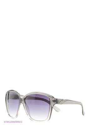 Солнцезащитные очки Mario Rossi. Цвет: серый, серо-зеленый, бледно-розовый