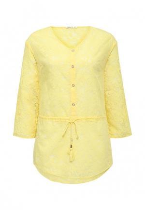 Блуза Zarina. Цвет: желтый