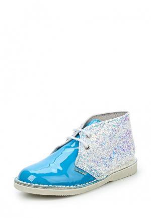 Ботинки Barritos. Цвет: серебряный