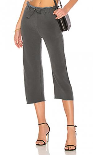Широкие брюки Stateside. Цвет: уголь