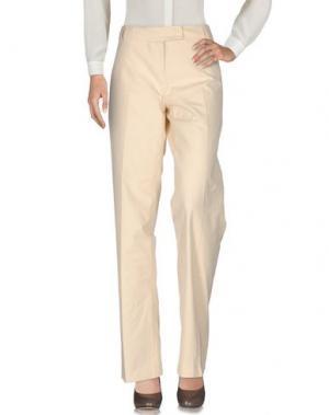 Повседневные брюки CLIPS MORE. Цвет: бежевый