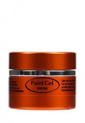 Гель-краска для ногтей Planet Nails. Цвет: желтый