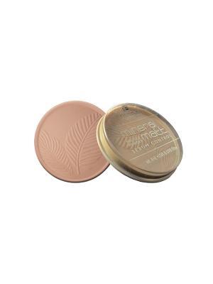 Компактная пудра с минералами Тон 02 Розово-бежевый Parisa. Цвет: бежевый