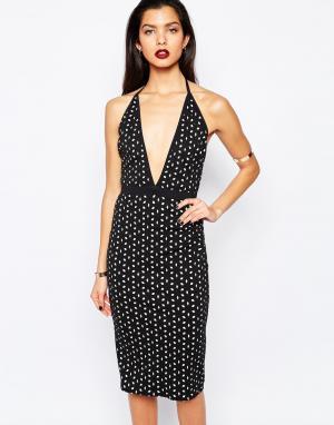 Bec & Bridge Платье Anis. Цвет: черный