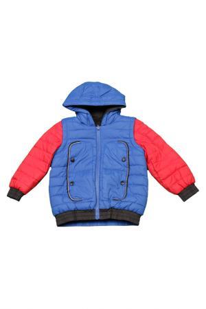 Куртка Little Marc Jacobs. Цвет: синий, черный