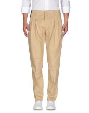 Джинсовые брюки DONDUP. Цвет: песочный