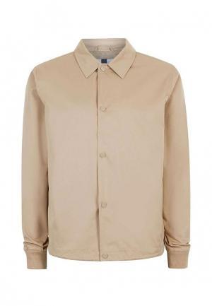 Куртка Topman. Цвет: бежевый