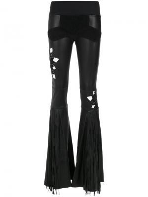 Wide leg trousers Andrea Bogosian. Цвет: чёрный