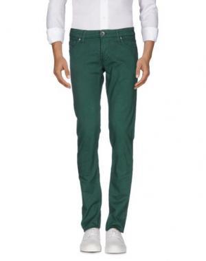 Джинсовые брюки ENERGIE. Цвет: зеленый