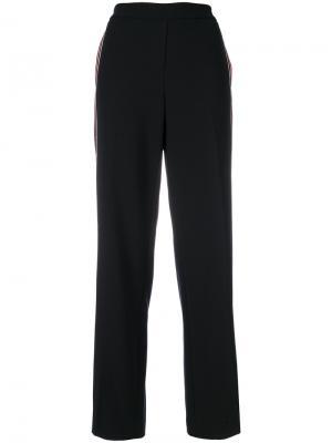 Широкие брюки Luisa Cerano. Цвет: чёрный