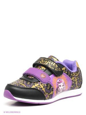 Кроссовки Kakadu. Цвет: черный, фиолетовый, золотистый