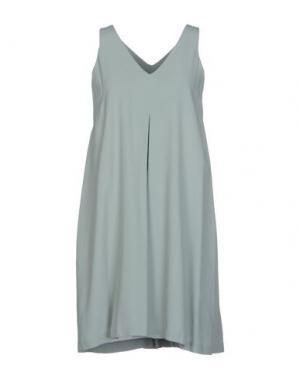 Короткое платье TUA NUA. Цвет: бирюзовый