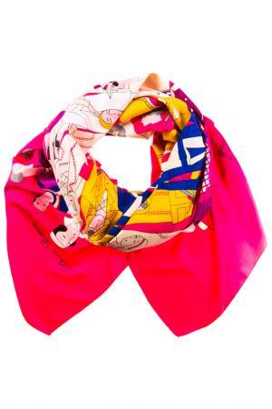 Платок Vita Pelle. Цвет: розовый, белый