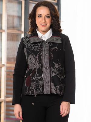 Жакет Giani F. Цвет: черный, бордовый, серый