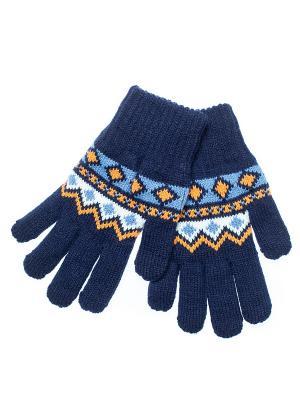 Перчатки FOMAS. Цвет: темно-синий, оранжевый