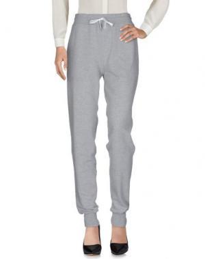 Повседневные брюки STR/KE MVMNT. Цвет: светло-серый