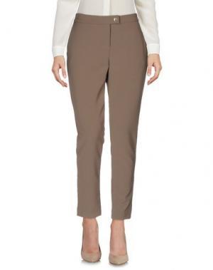 Повседневные брюки ROBERTA BIAGI. Цвет: хаки