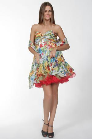 Платье Aeelis. Цвет: мультицвет