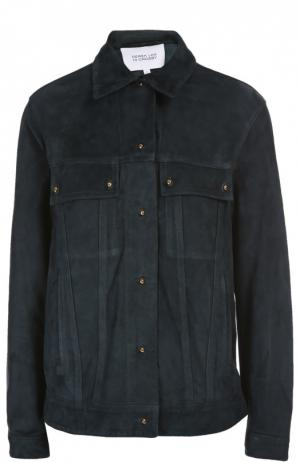 Кожаная куртка 10 Crosby Derek Lam. Цвет: зеленый