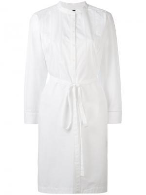 Платье-рубашка без воротника Rag & Bone. Цвет: белый