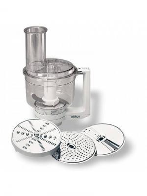 Комплект насадок Bosch MUZ5MM1 для кухонных комбайнов. Цвет: белый