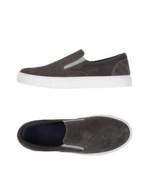 Низкие кеды и кроссовки FABIANO RICCI. Цвет: свинцово-серый